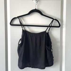 UO / SILENCE & NOISE / CUT OUT CROP TANK